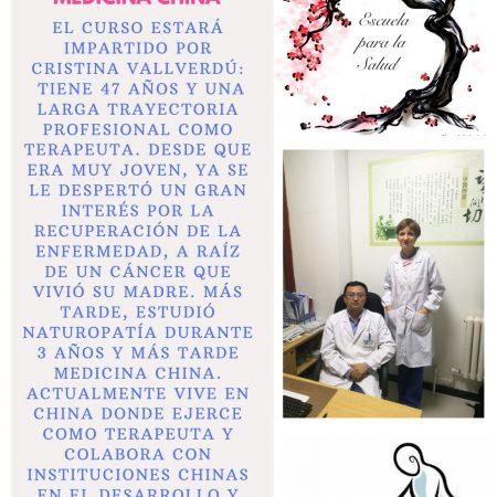 Como ser un buen Terapeuta en Medicina China con Cristina Vallverdú