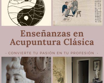 Enseñanzas en Acupuntura Clásica (3 años)